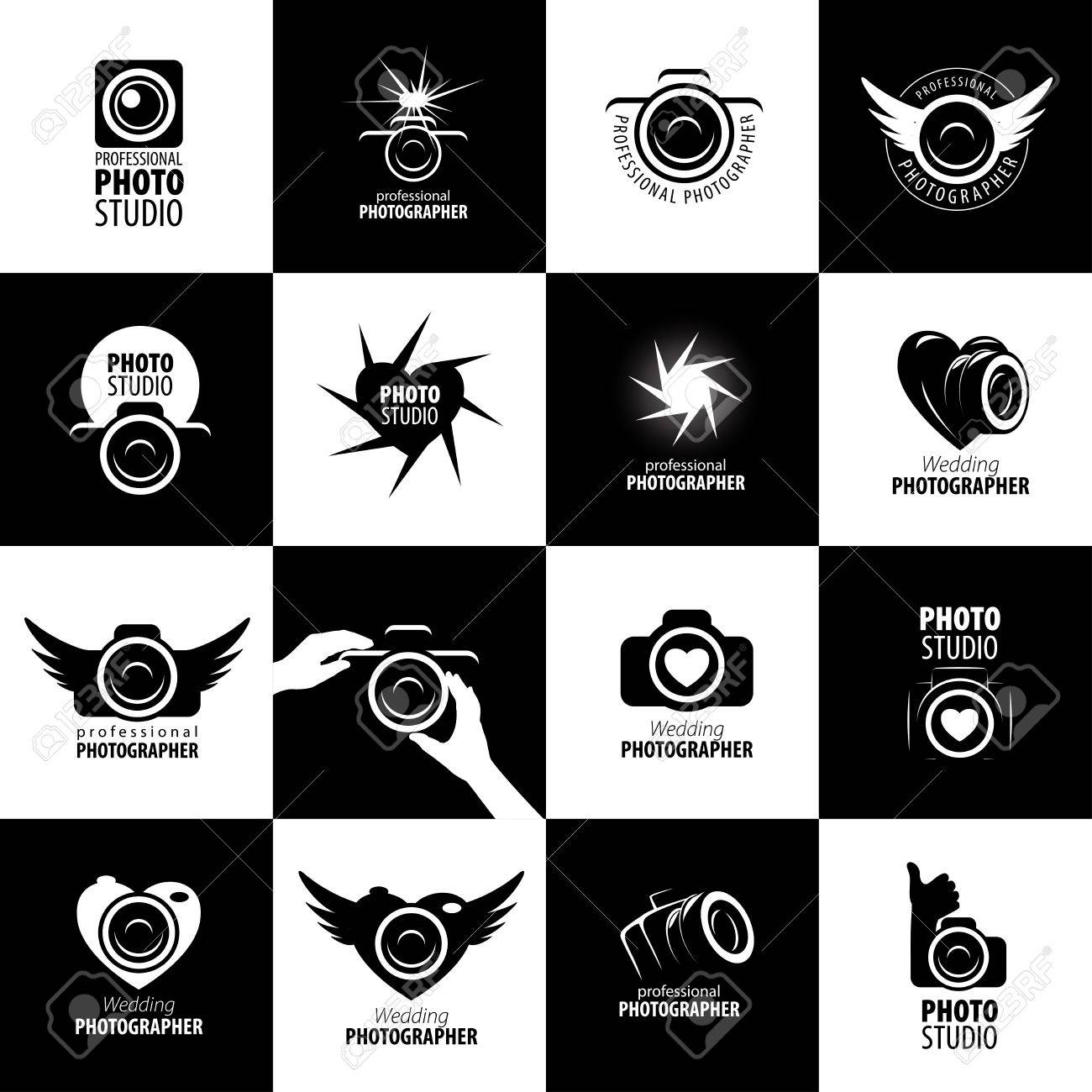 Vector logo template for a photographer or studio - 54523952