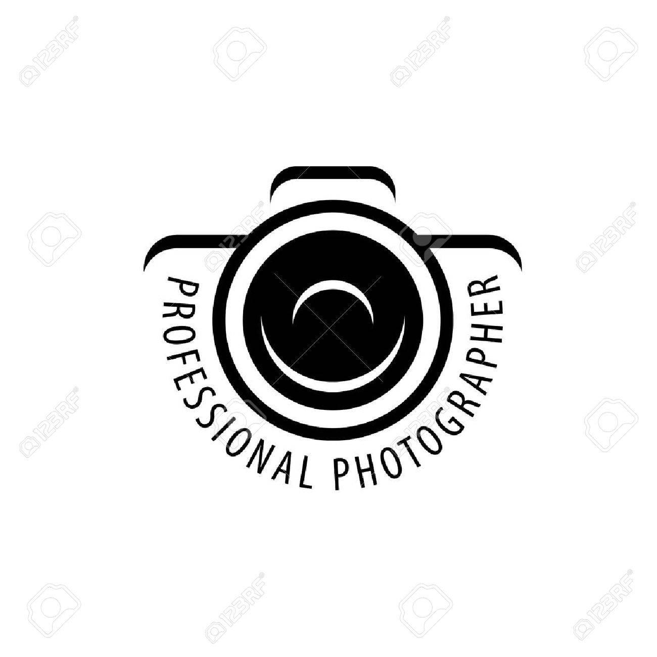 Vector-Logo-Vorlage Für Einen Fotografen Oder Studio Lizenzfrei ...