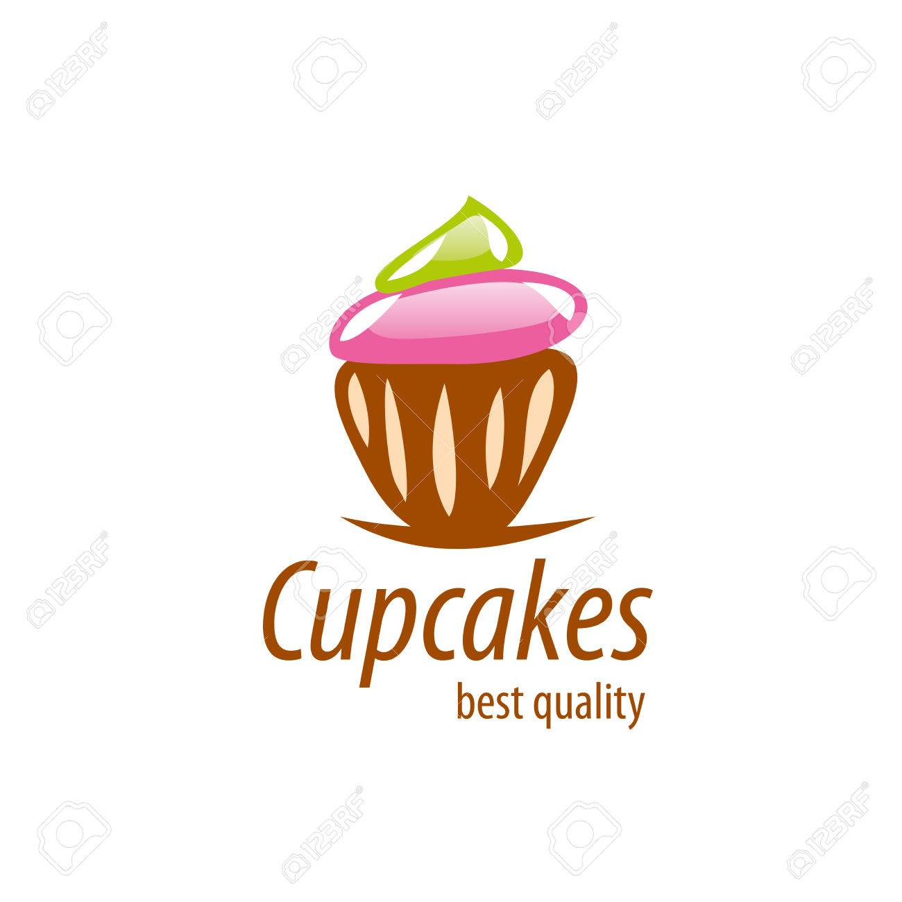 Design Template Cupcake Vector Illustration Of Icon Royalty Free