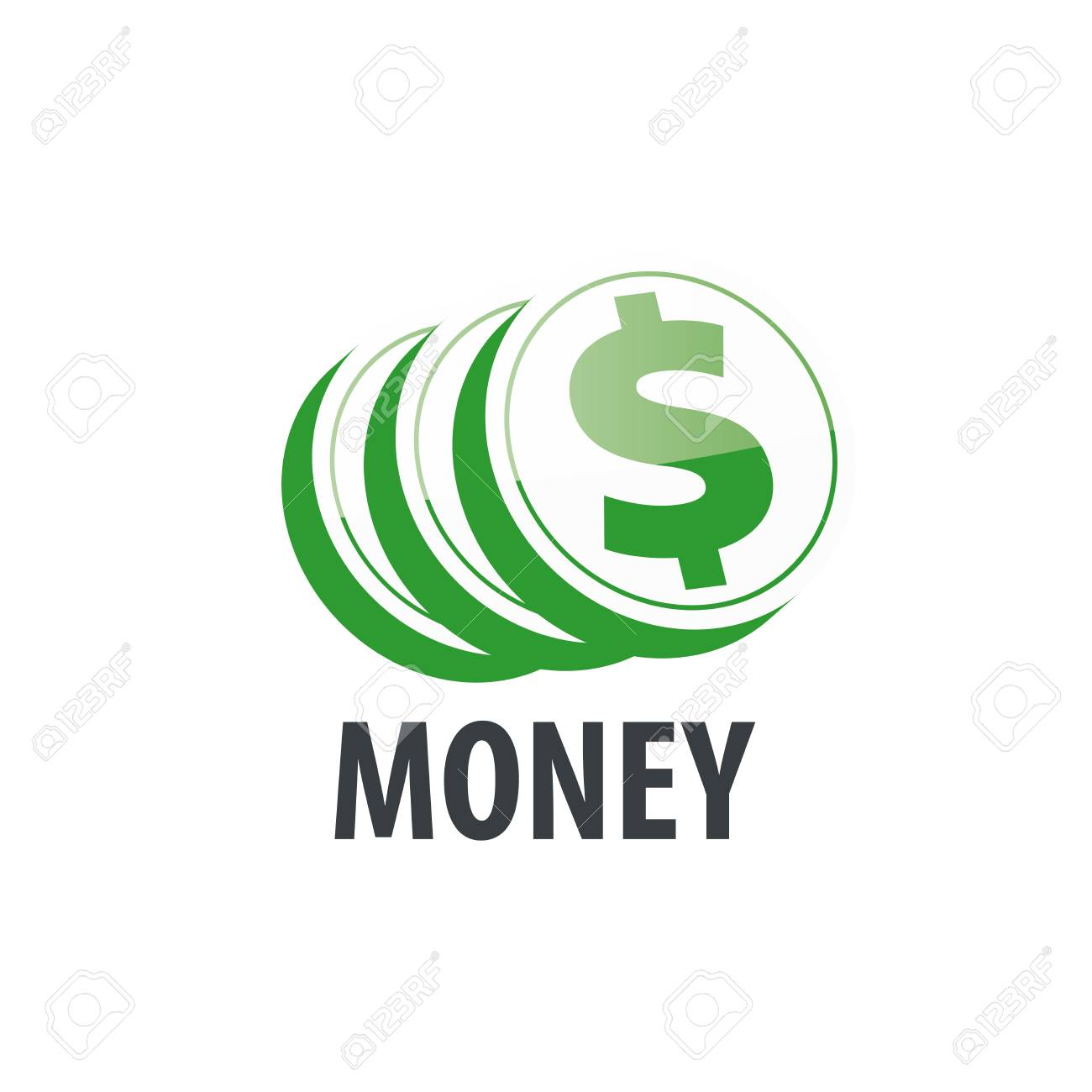 Money Logo Design Template Vector Illustration Of Icon Royalty Free Cliparts Vectors And Stock Illustration Image 61753459