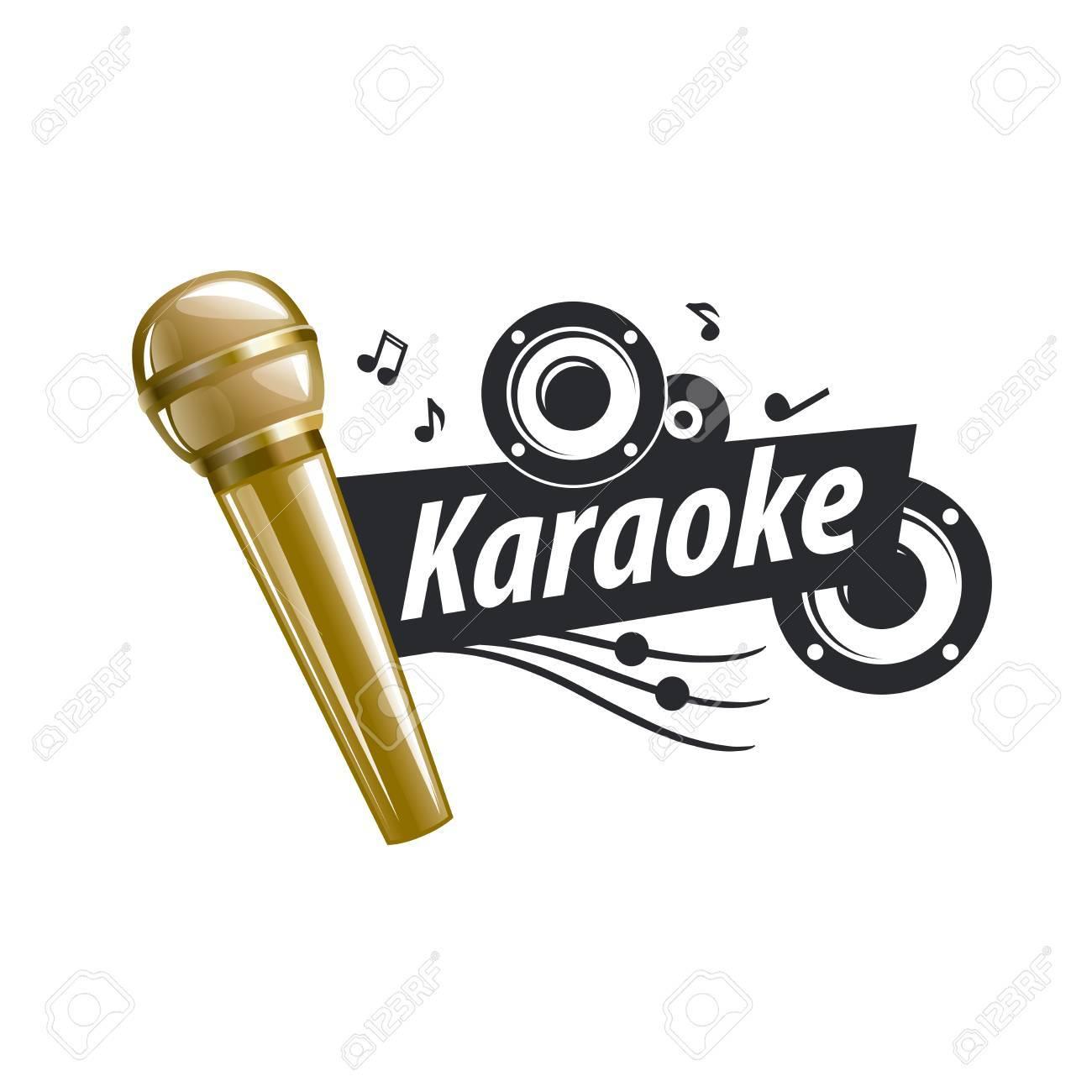 logo design template for karaoke. Vector illustration of icon - 62047985