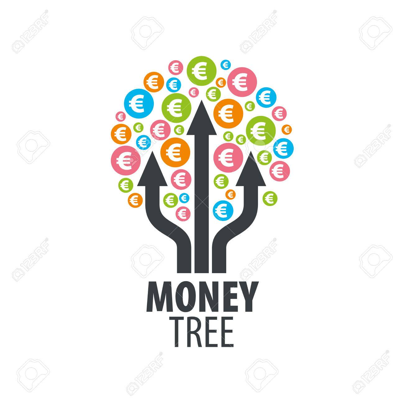 design templates vectors vector artwork wwwresume formatcom 62048743 logo design template money tree vector illustration stock - Wwwresume Formatcom