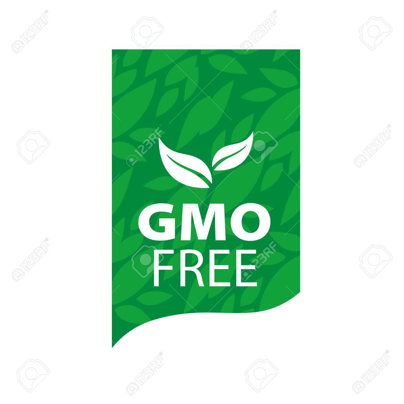 Plantilla Diseño Logo Gmo Gratis. Ilustración De Vector De Icono ...