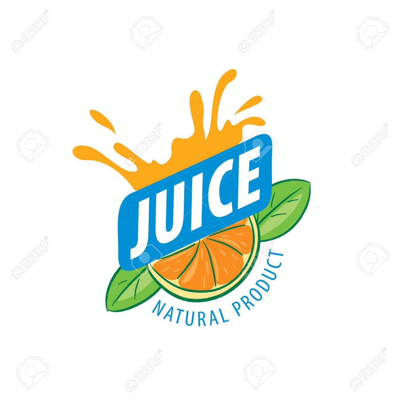 logo design template juice vector illustration of icon royalty free cliparts vectors and stock illustration image 67425619 123rf com