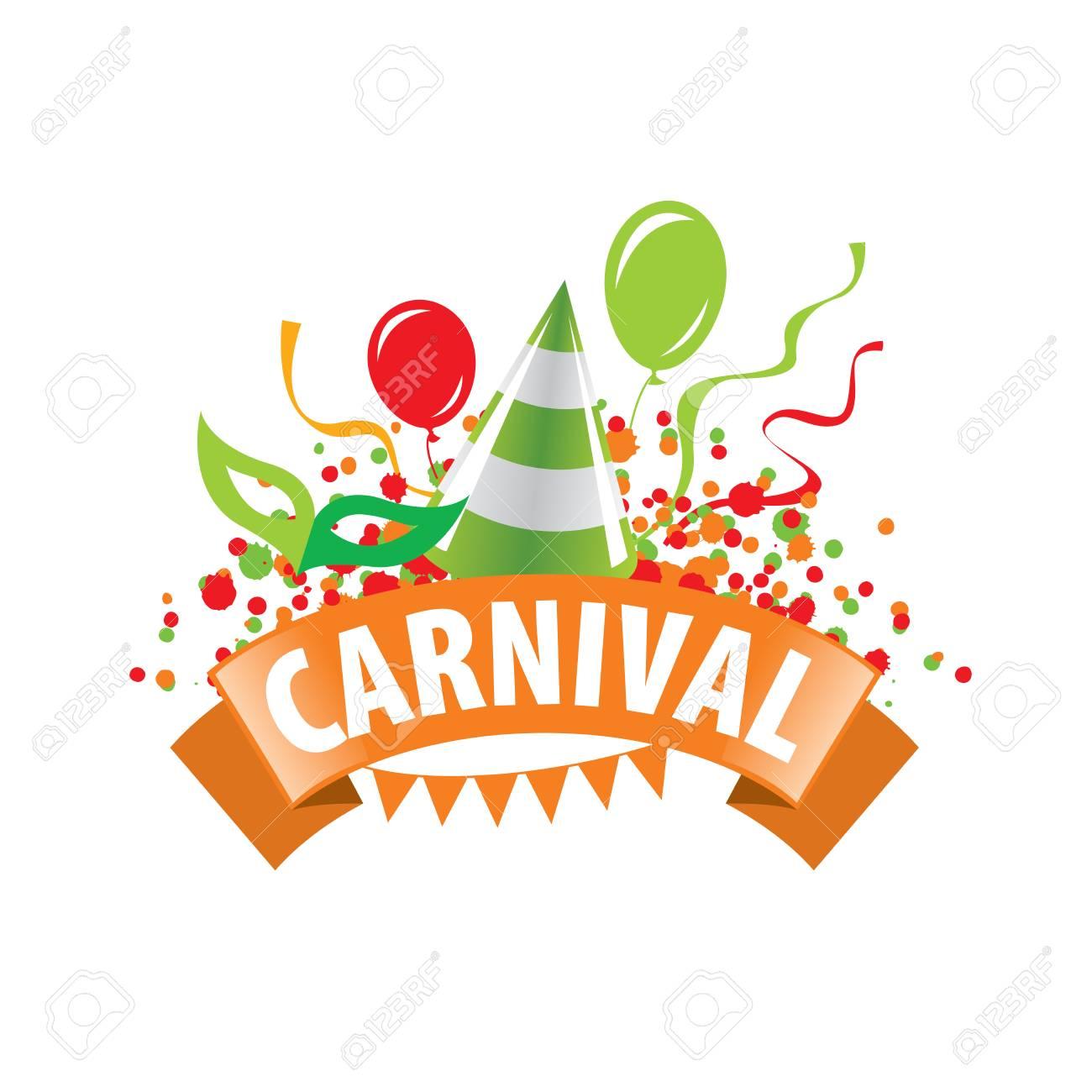 Diseño de plantilla logo Carnaval. Ilustración de vector de icono Foto de  archivo - 67427940 8ecea5950d722