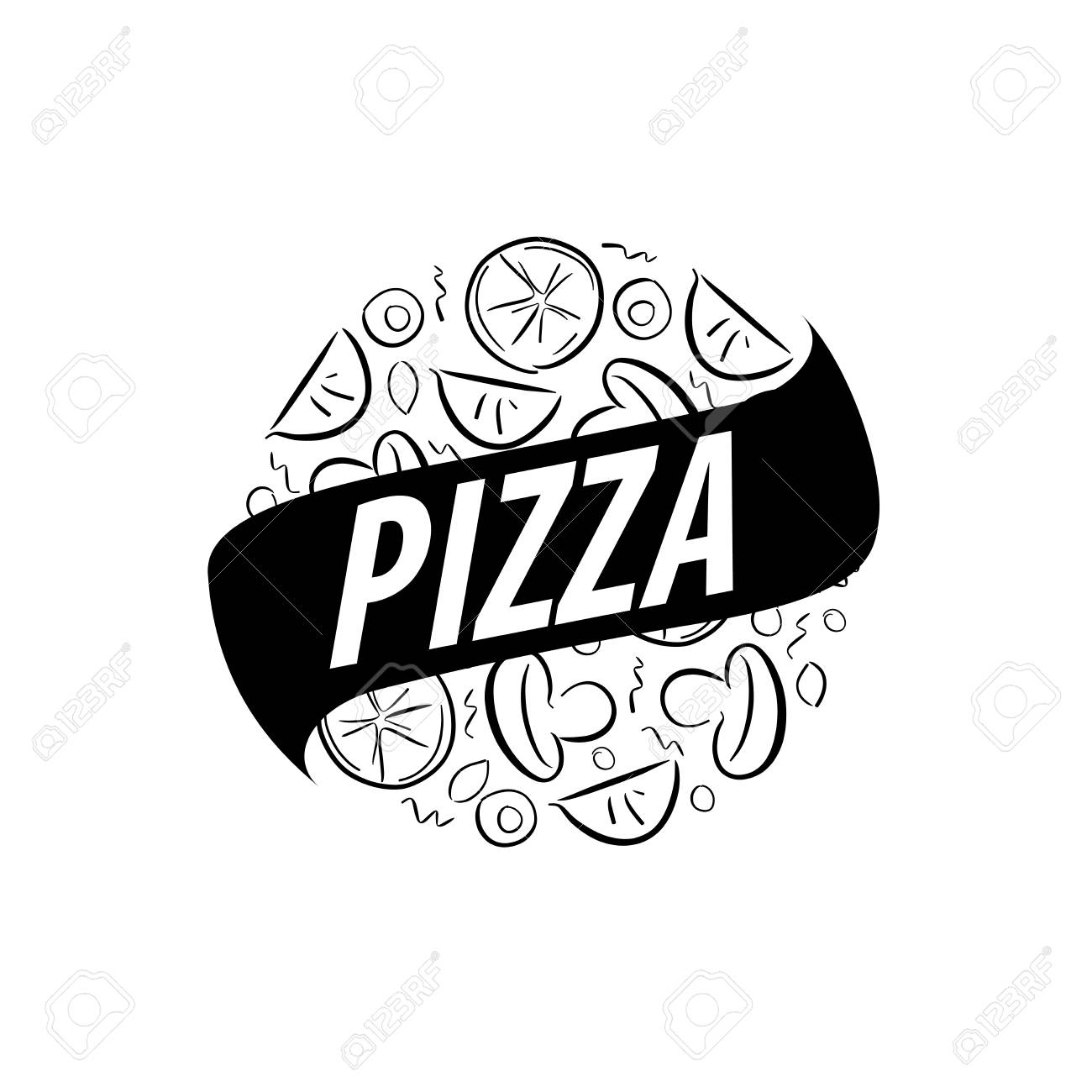 pizza vector logo royalty free cliparts vectors and stock rh 123rf com pizza vector png pizza vector free