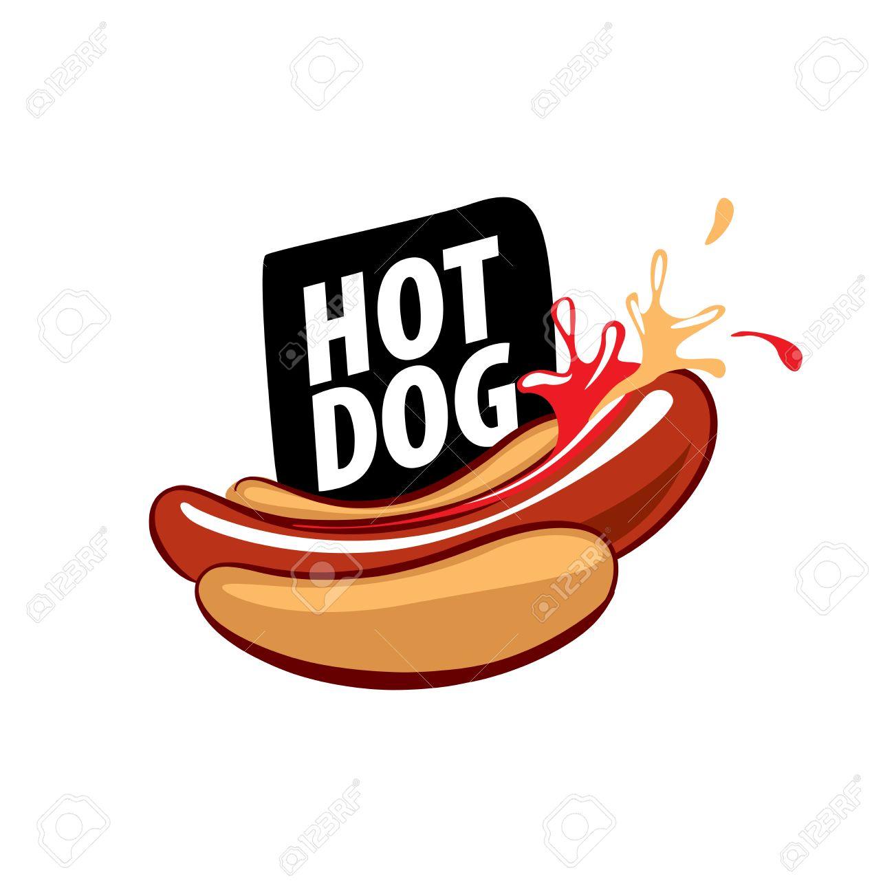 vector logo hot dog royalty free cliparts vectors and stock rh 123rf com hot dog lego hot dog lego