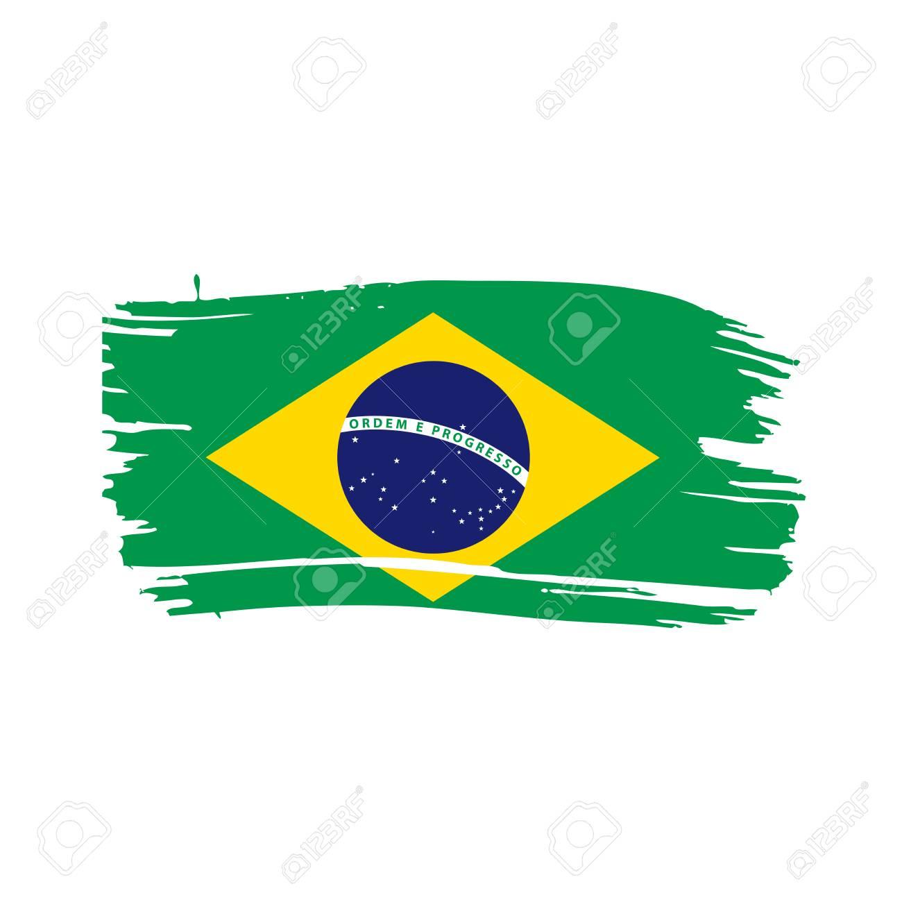 brazil flag vector illustration on a white background royalty free rh 123rf com brazil flag vector file brazil flag vector file free