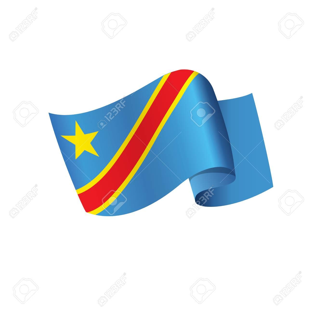 Bandera De La República Democrática Del Congo Ilustraciones Vectoriales Clip Art Vectorizado Libre De Derechos Image 94834296