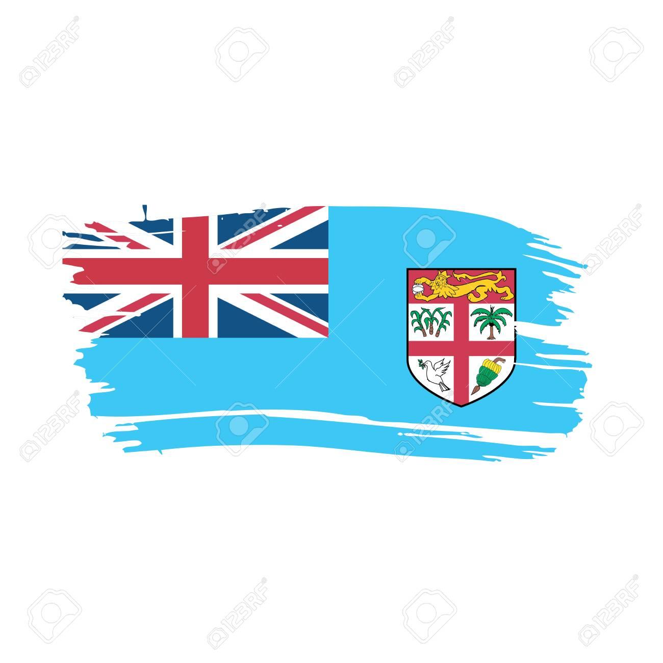 Fiji Flag Vector Illustration