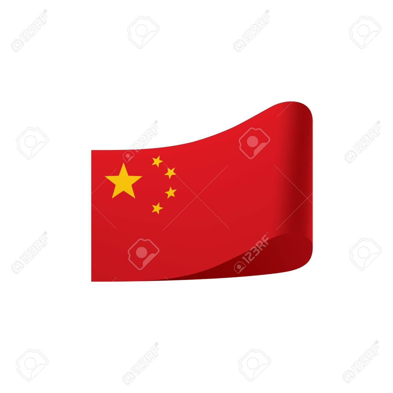 china flag vector illustration royalty free cliparts vectors and rh 123rf com China America Flag Vector china flag icon vector