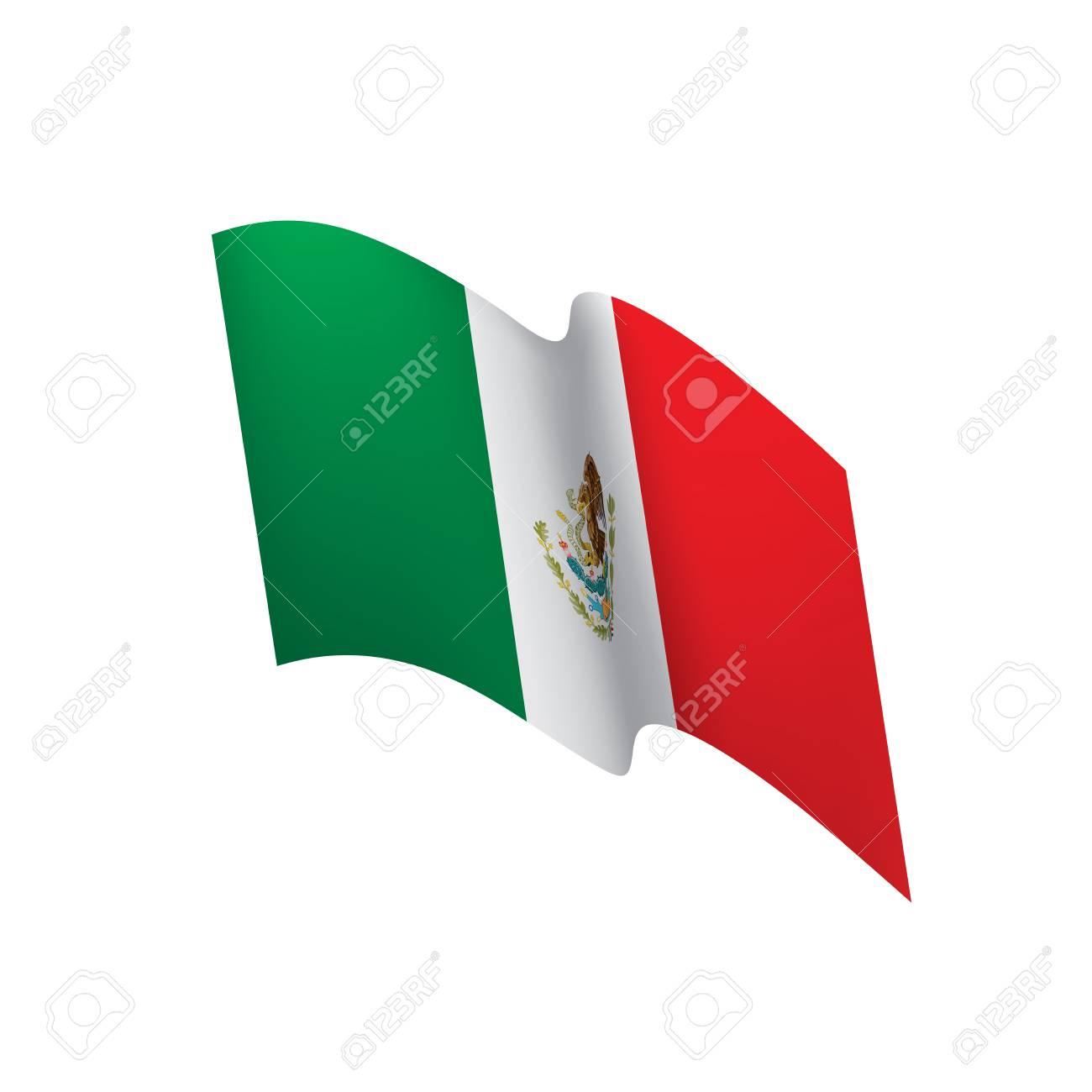mexican flag vector illustration royalty free cliparts vectors rh 123rf com mexican flag vector image mexican flag logo vector