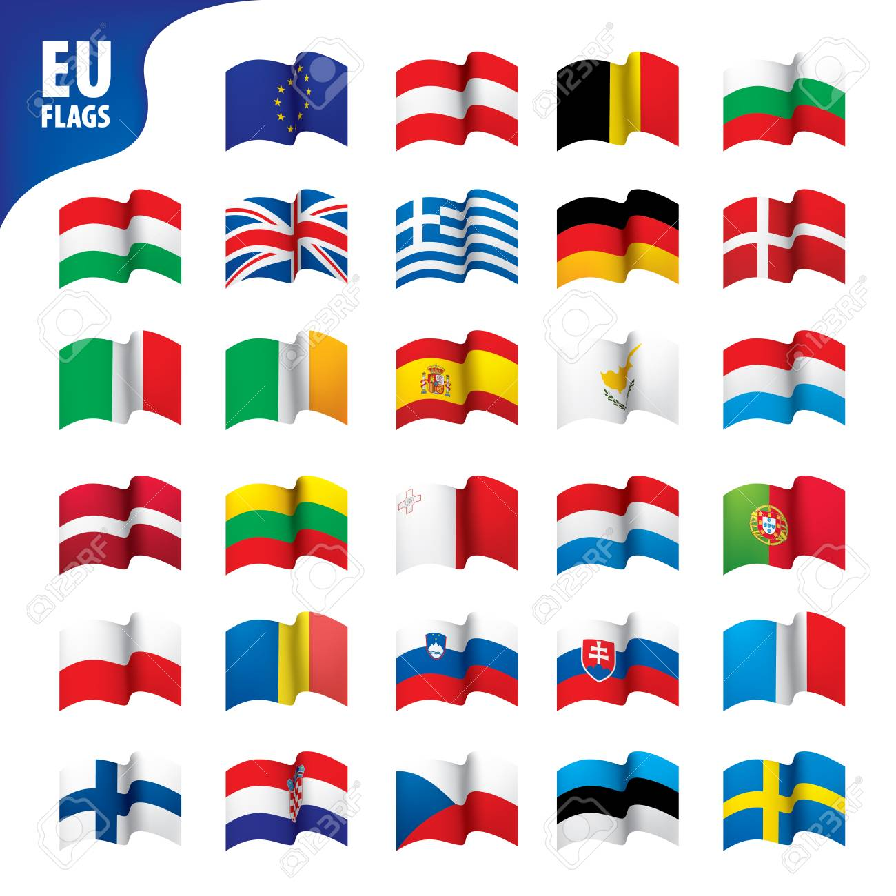 flags of the european union - 97440200