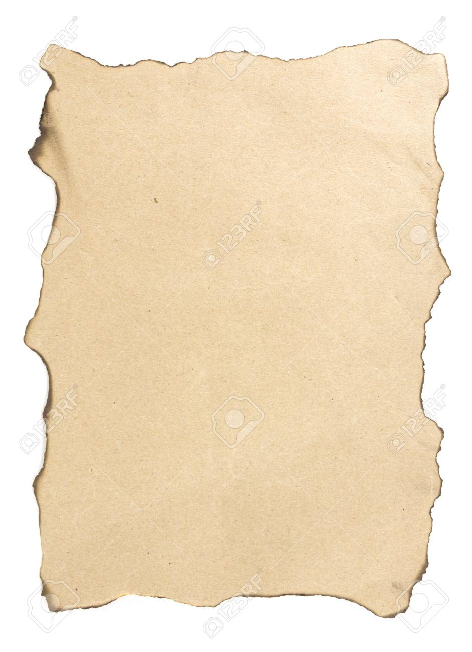 Paper is burnt Stock Photo - 16674163