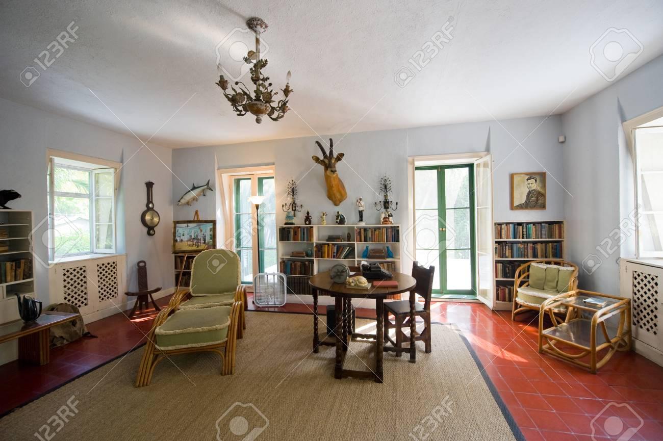 Key West Floride Etats Unis 3 Mai 2016 Chambre Ou Ernest Hemingway A Travaille A La Chambre Hemingway A Key West En Floride