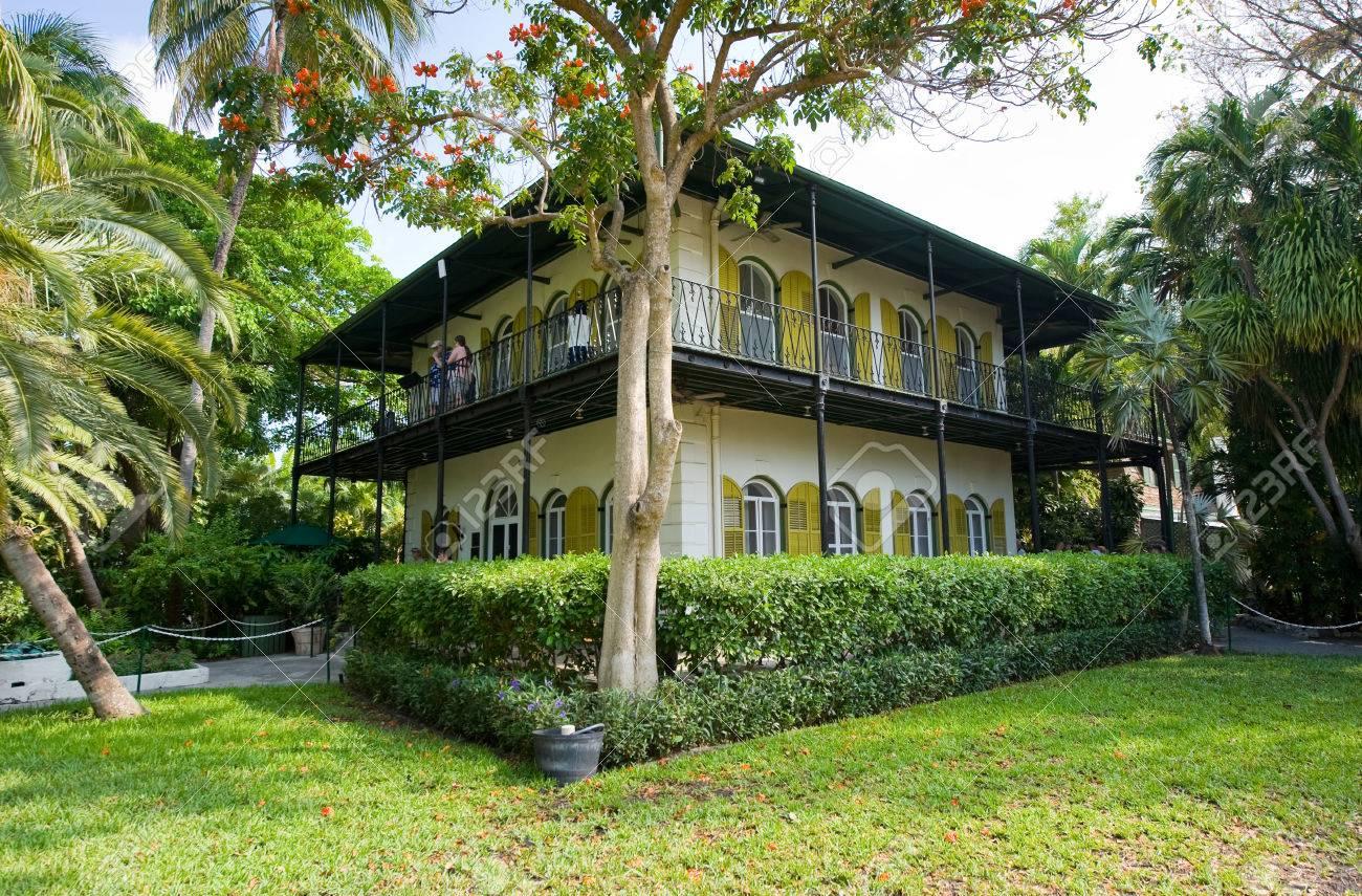 KEY WEST, FLORIDA, USA   MAY 03, 2016: The Ernest Hemingway House