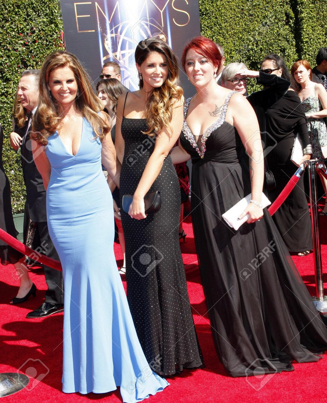 Maria Shriver, Christina Schwarzenegger and Katherine Schwarzenegger