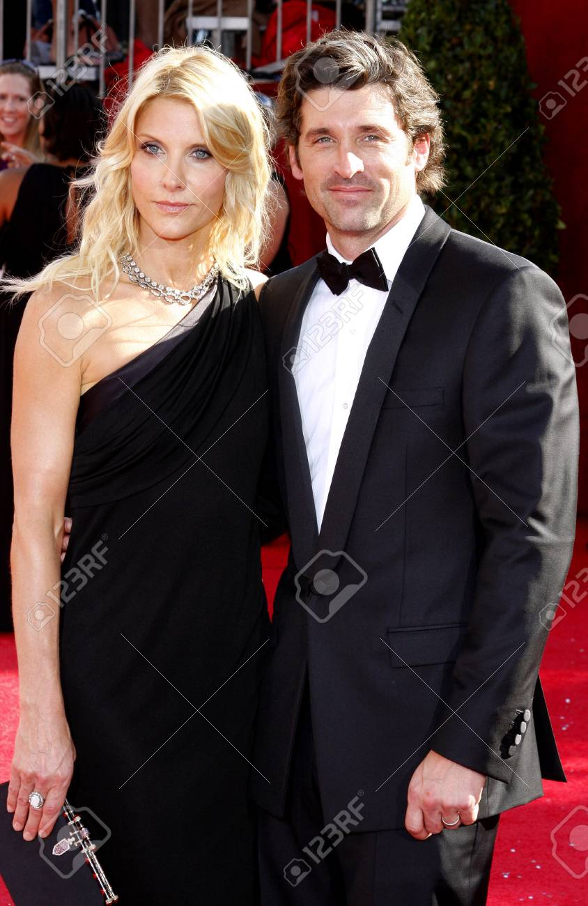 Patrick Dempsey And Jillian Fink At The 60th Primetime Emmy Awards