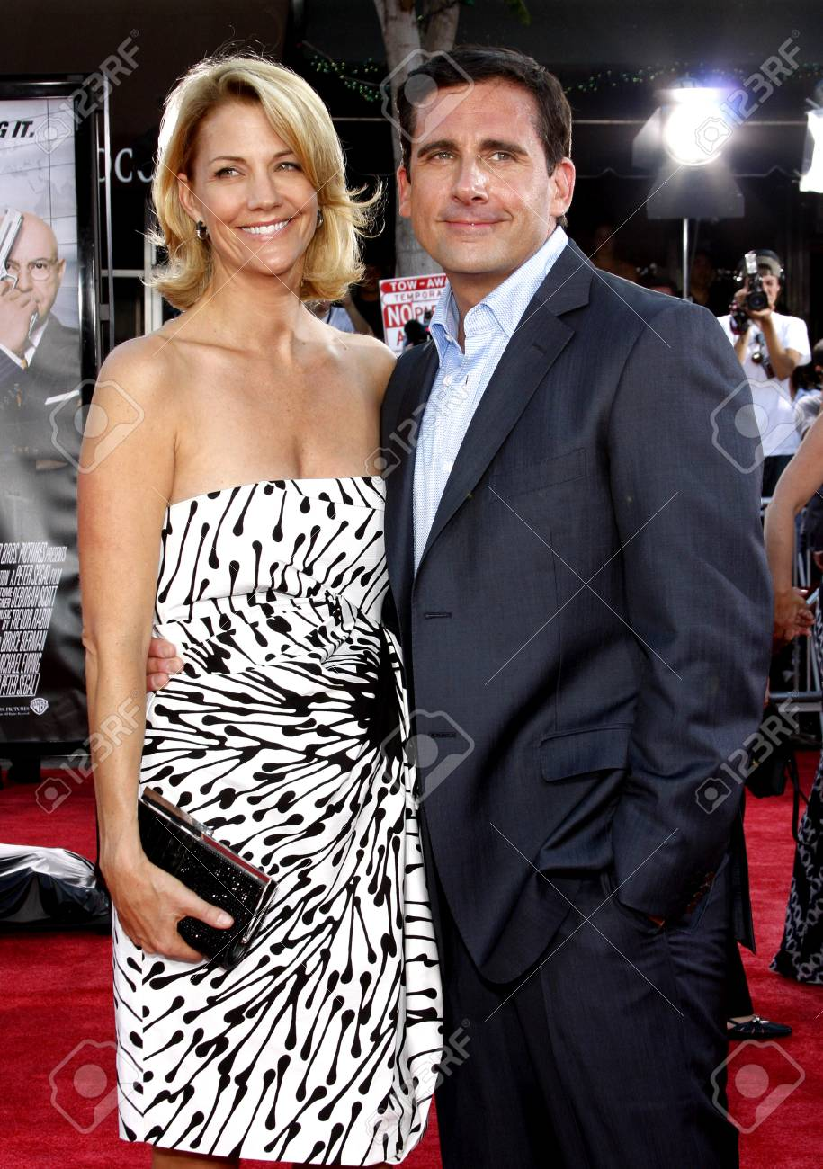 Nancy Carell and steve carell the office