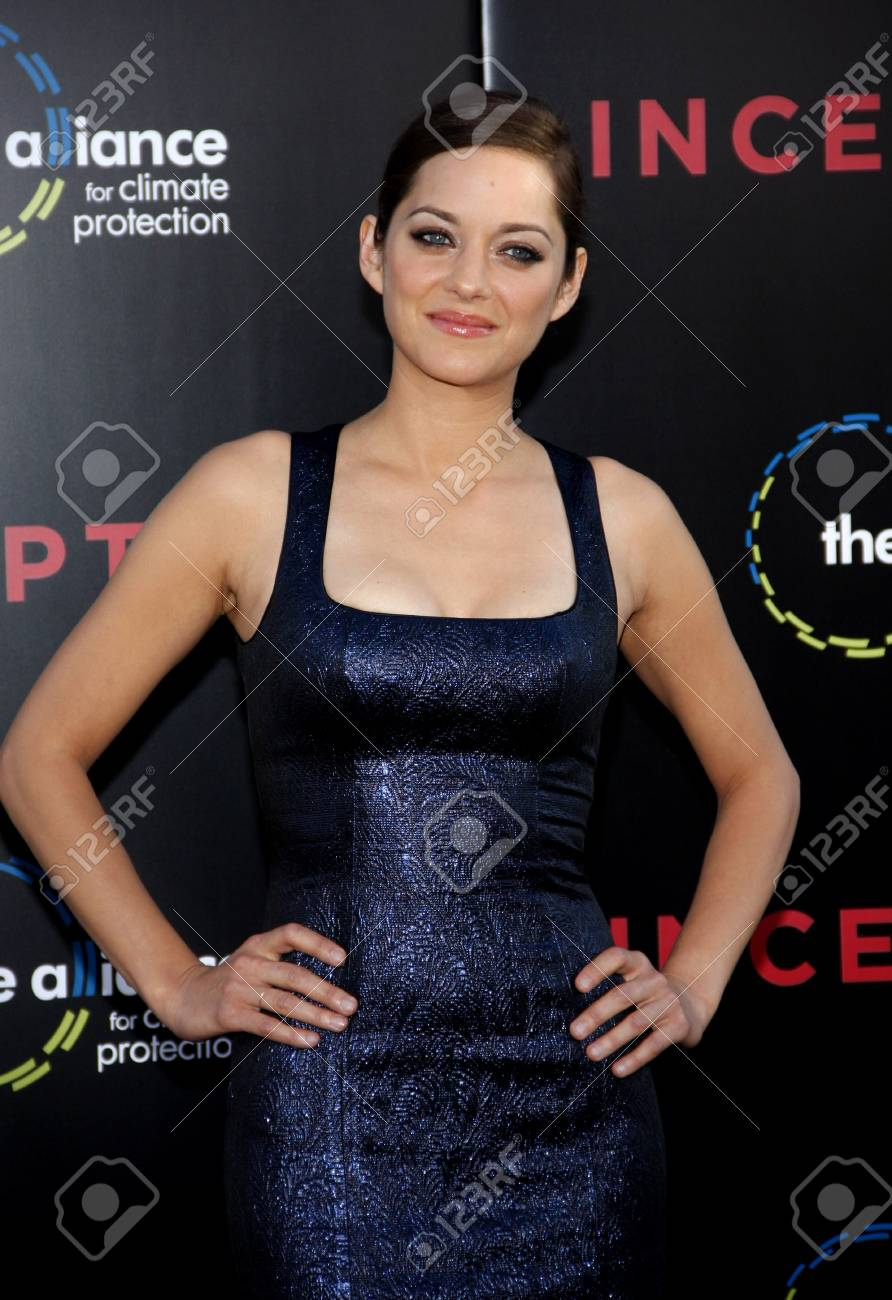 Marion Cotillard At The Los Angeles Premiere Of Inception Held
