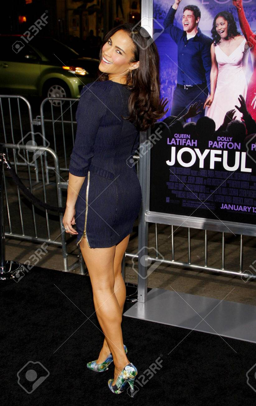 Paula Patton At The Los Angeles Premiere Of Joyful Noise Held At The Graumans