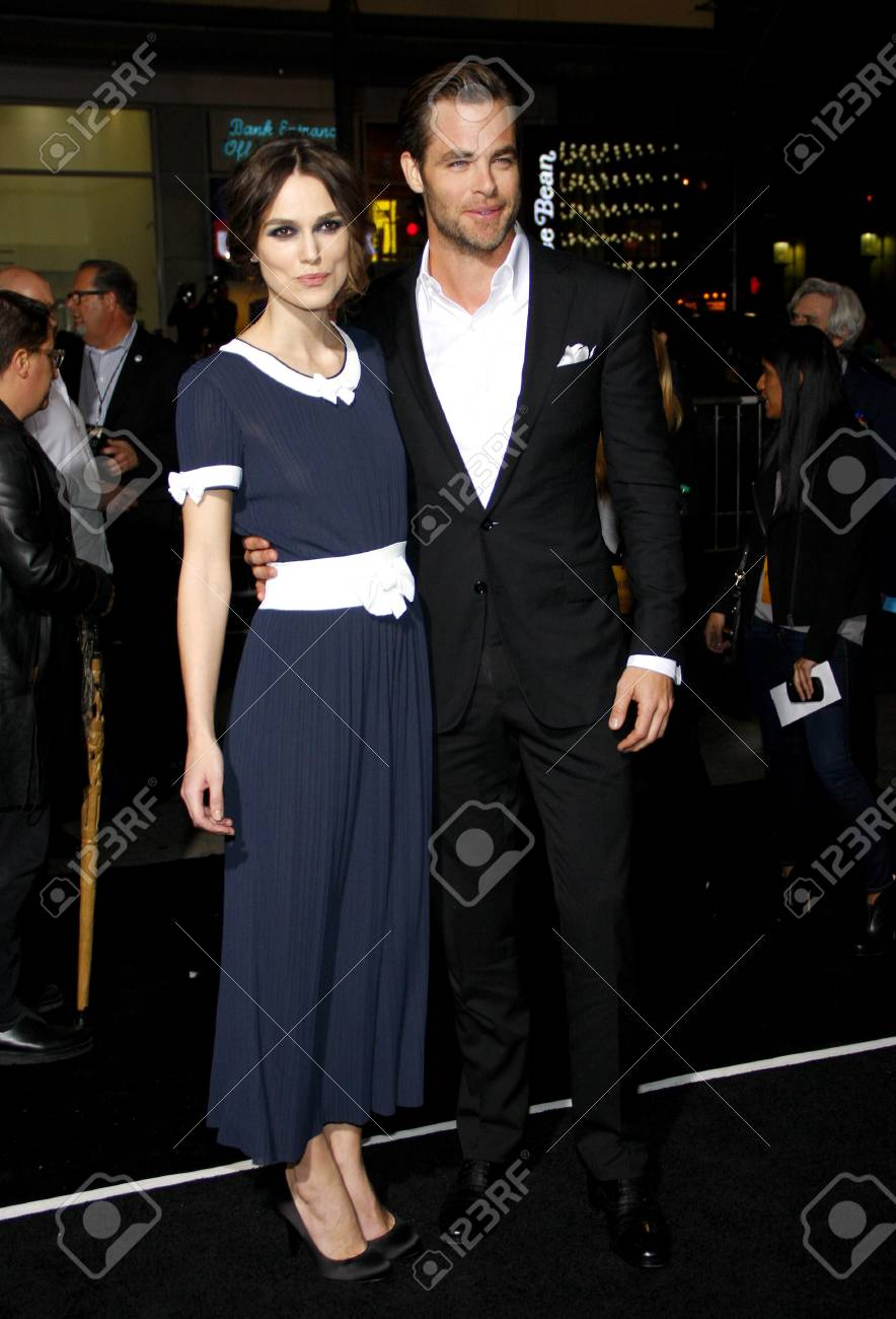Pine Keira Los Of Knightley The And At Chris Premiere Angeles VqzMUGSp
