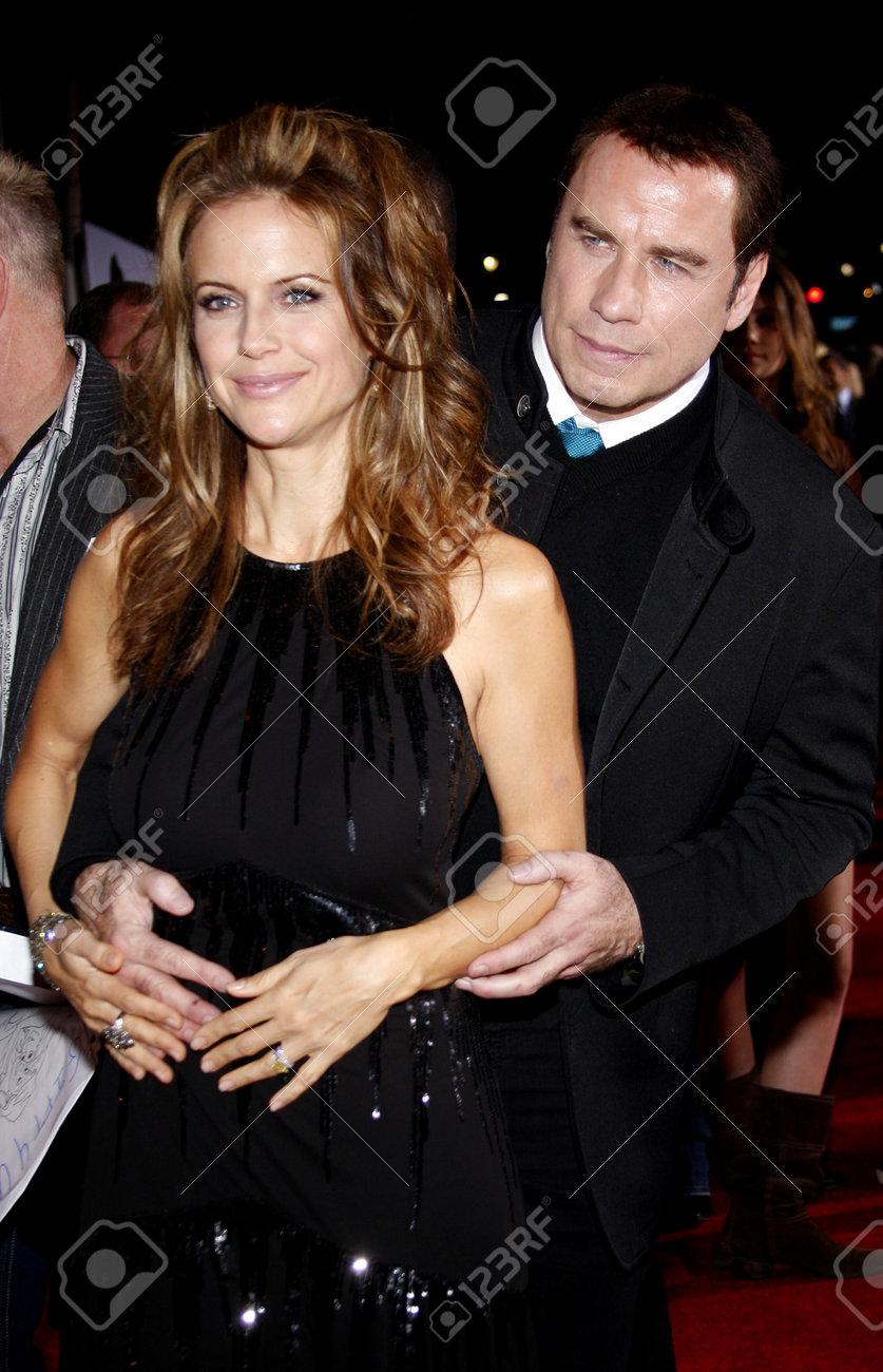 Hollywood Ca November 09 2009 Kelly Preston And John Travolta Stock Photo Picture And Royalty Free Image Image 56844587