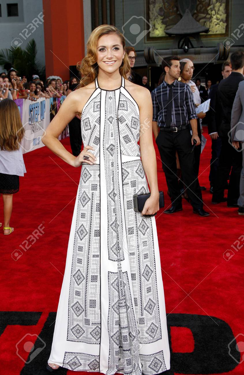 Alyson Stoner At The Los Angeles Premiere Of Step Up Revolution