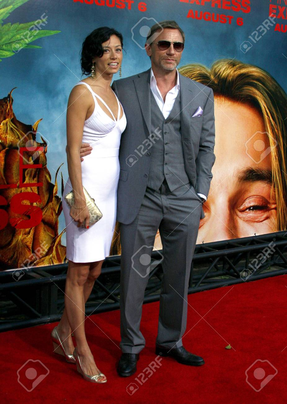 Daniel Craig At The Los Angeles Premiere Of Pineapple Express Stock Photo Picture And Royalty Free Image Image 109184881