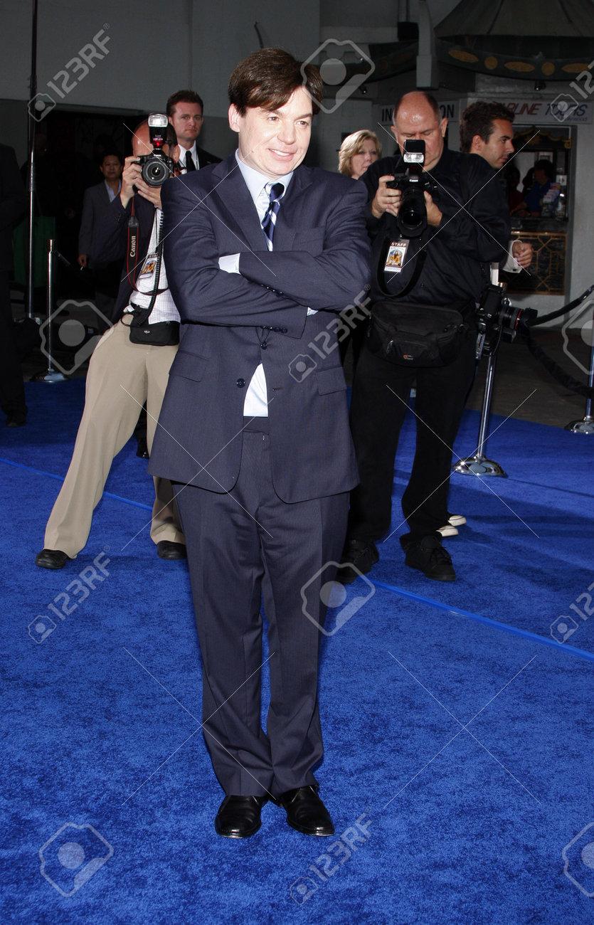 Mike Myers En La Premier De Los Ángeles De \