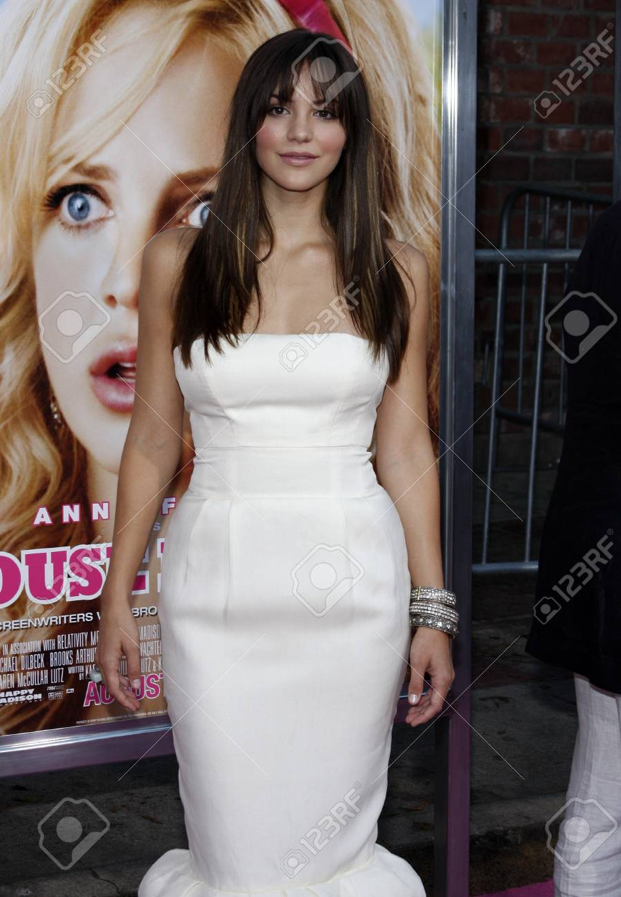 Katharine Mcphee At The Los Angeles Premiere Of The House Bunny Stock Photo Picture And Royalty Free Image Image 62304158