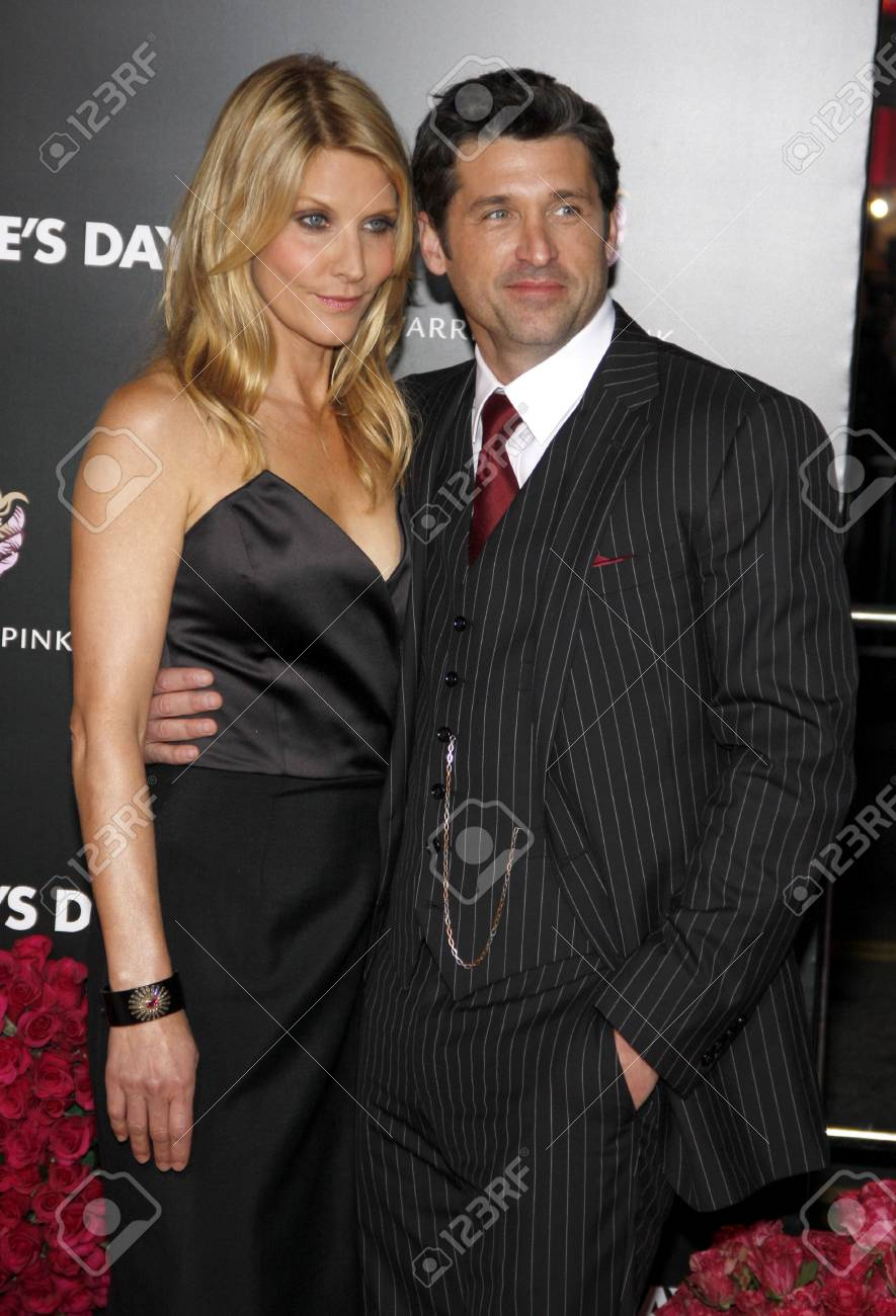 Jillian Fink And Patrick Dempsey At The Los Angeles Premiere