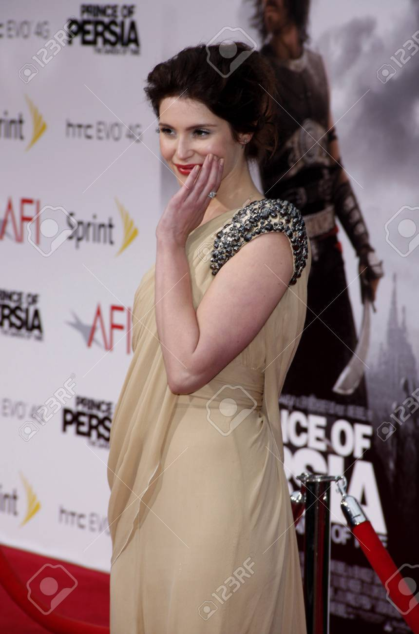 Gemma Arterton At The Los Angeles Premiere Of Prince Of Persia Stock Photo Picture And Royalty Free Image Image 77204027