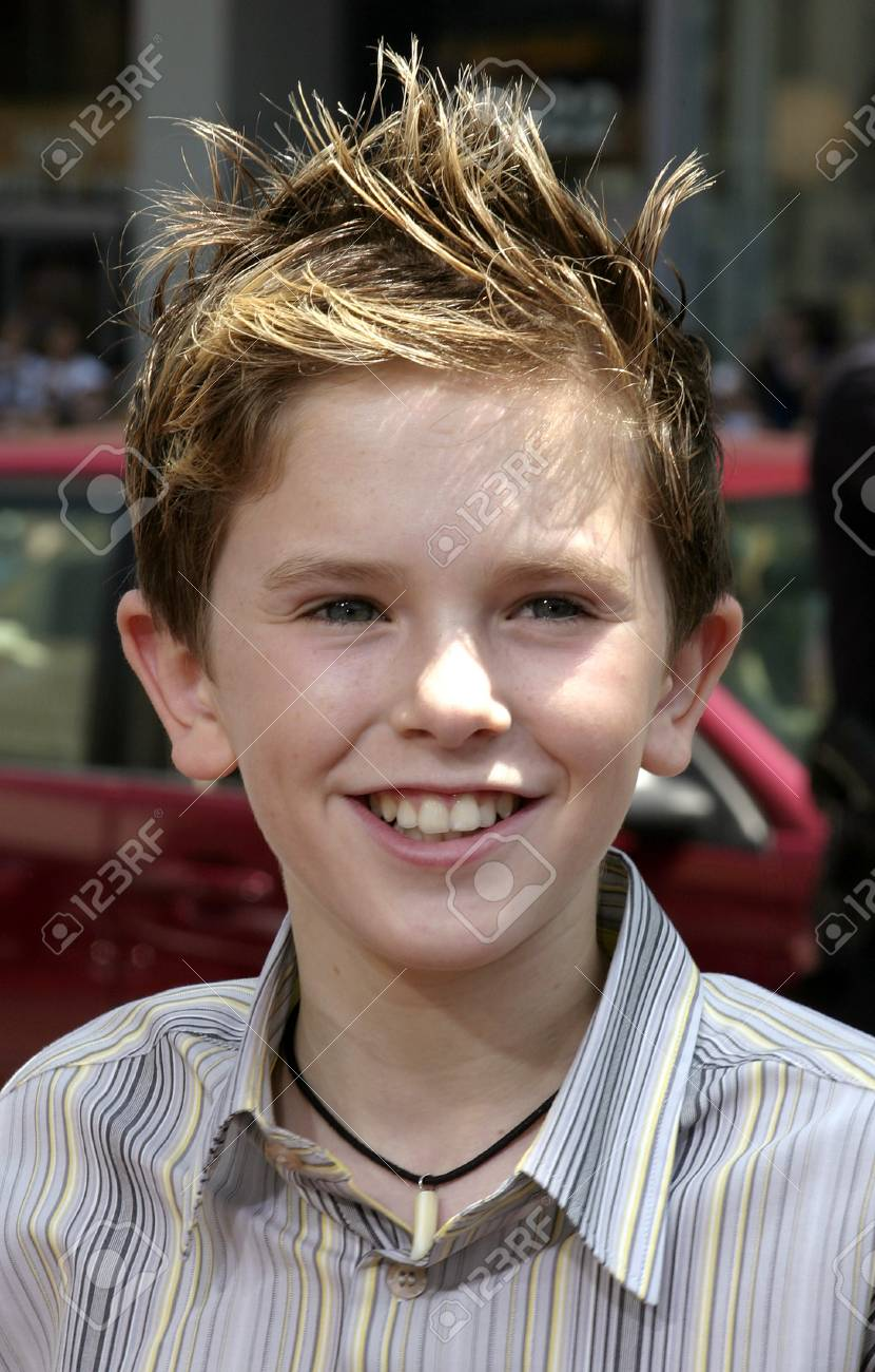 e629213145718 Stock Photo - Freddie Highmore at the Los Angeles premiere of