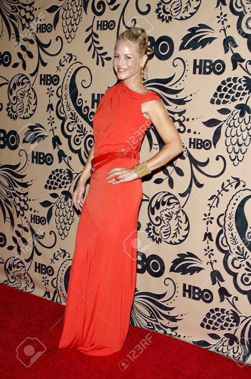 Maria Bello at the HBO POST EMMY Party held at the Pacific Design