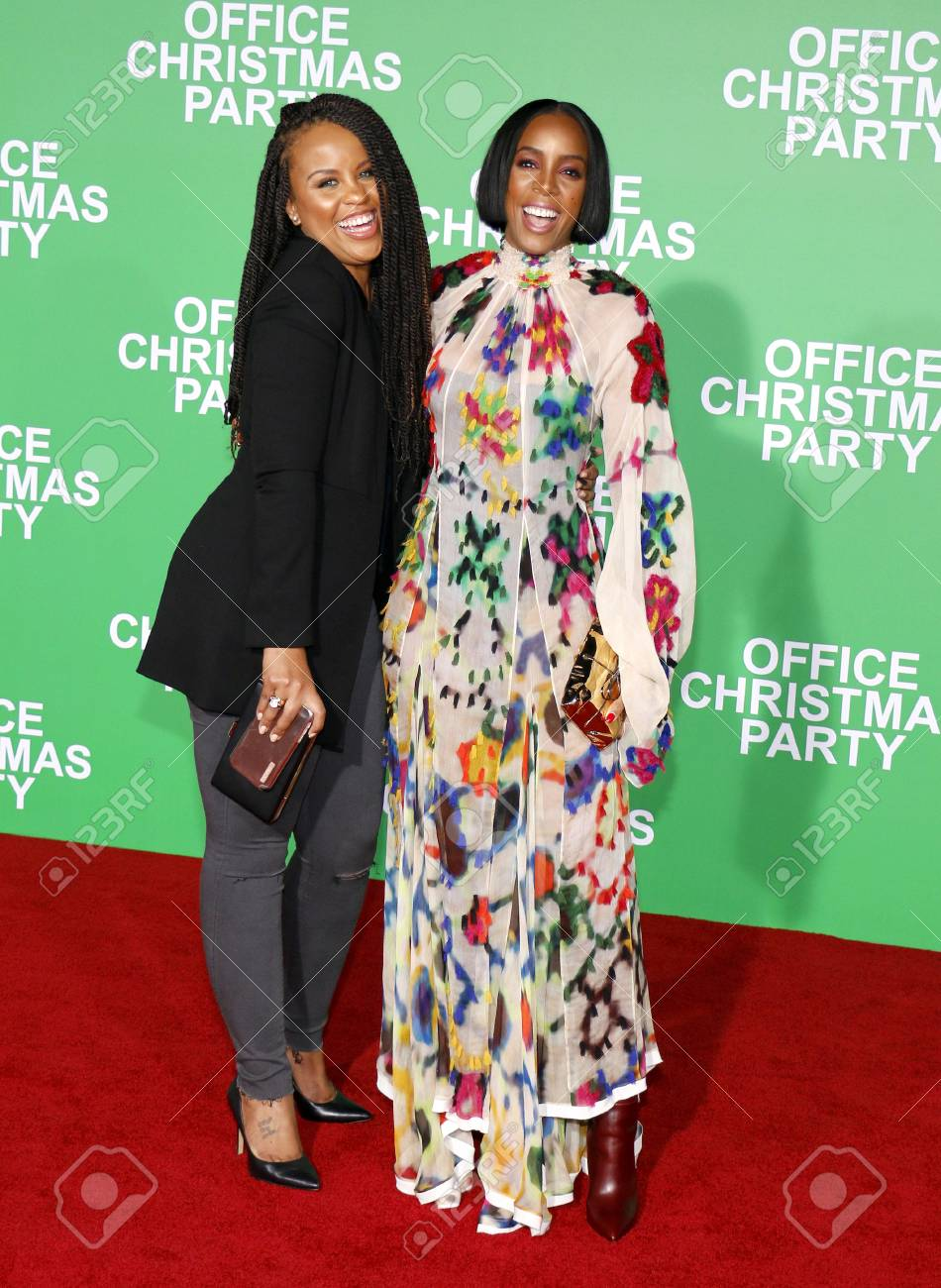 Kellee Stewart And Kelly Rowland At The Los Angeles Premiere.. Stock ...