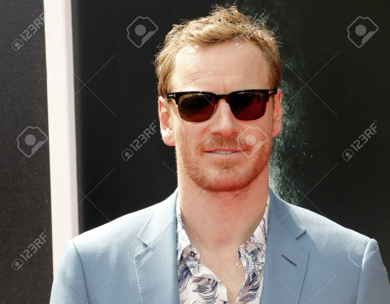 Michael Fassbender at the Los Angeles special screening of 'Alien: