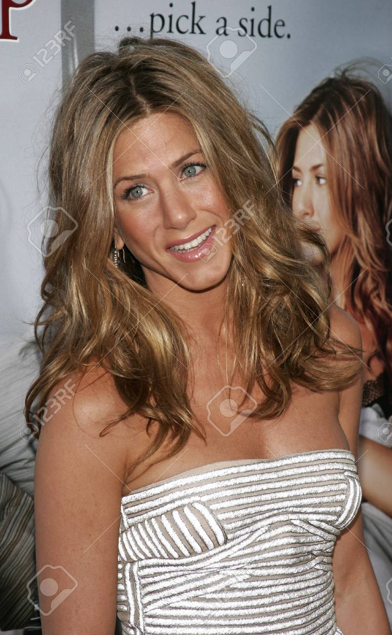 Jennifer Aniston At The Los Angeles Premiere Of The Break Up Stock Photo Picture And Royalty Free Image Image 85304651