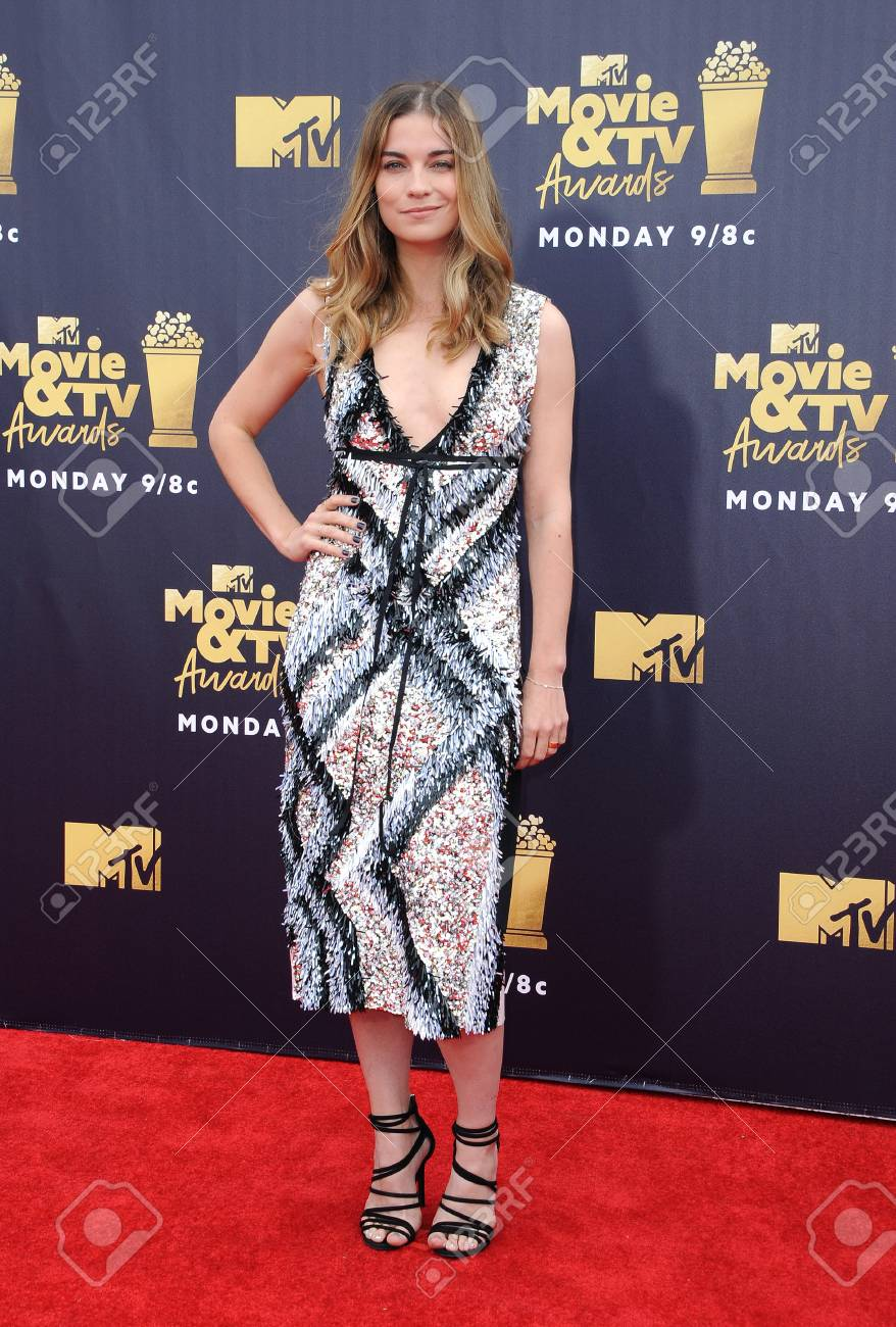 Annie Murphy at the 2018 MTV Movie And TV Awards held at the