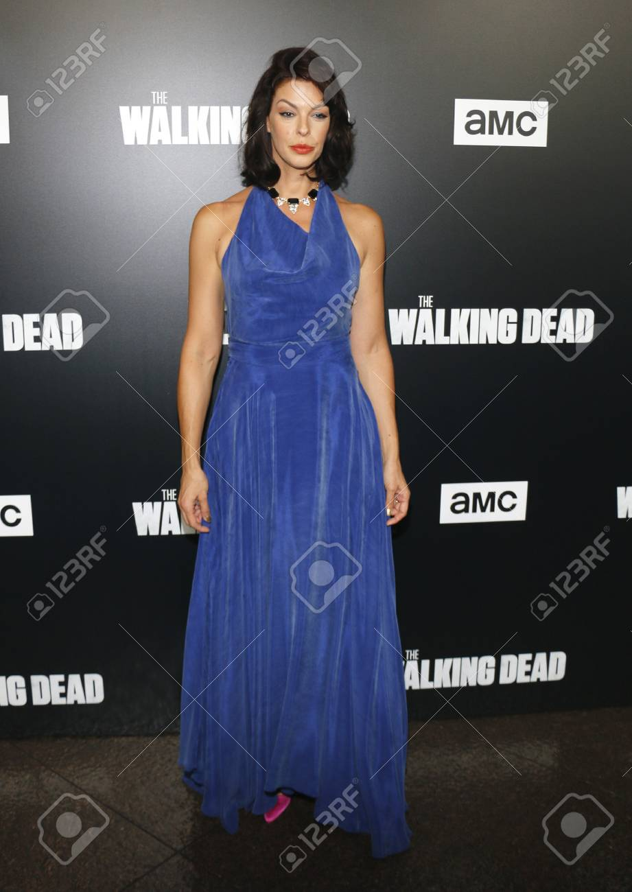 Pollyanna McIntosh at the premiere of AMC's 'The Walking Dead'