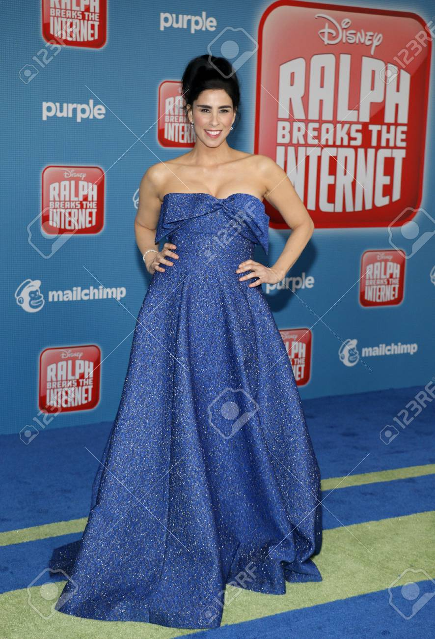 Sarah Silverman At The World Premiere Of Ralph Breaks The Internet Stock Photo Picture And Royalty Free Image Image 111642995