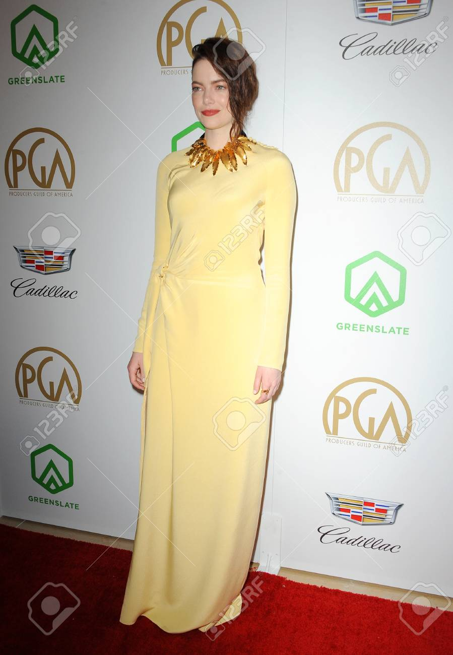 Emma Stone at the 30th Annual Producers Guild Awards held at
