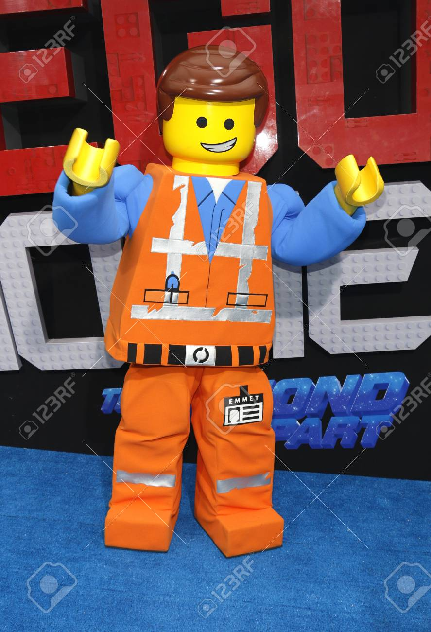 Emmet At The Los Angeles Premiere Of The Lego Movie 2 The Second Stock Photo Picture And Royalty Free Image Image 116664648