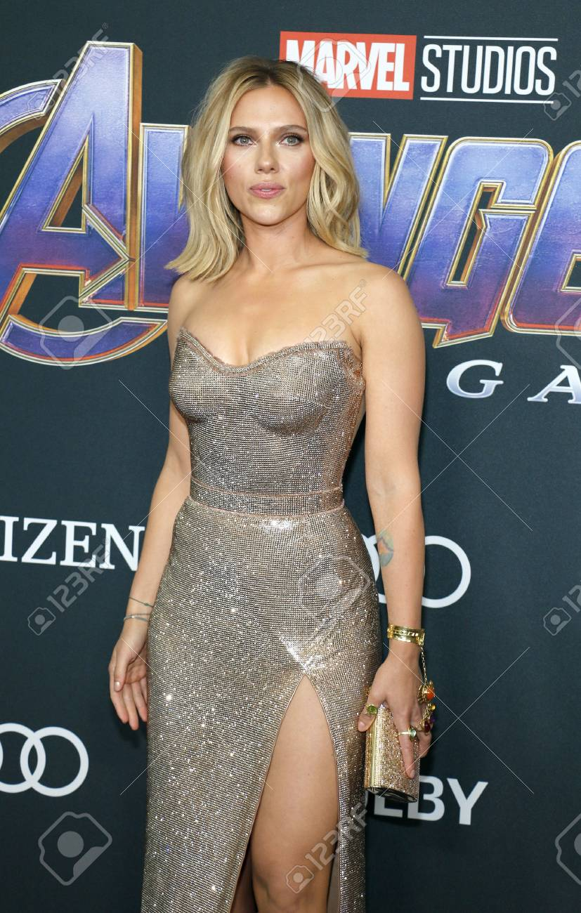 Scarlett Johansson At The World Premiere Of Avengers Endgame Stock Photo Picture And Royalty Free Image Image 121228205