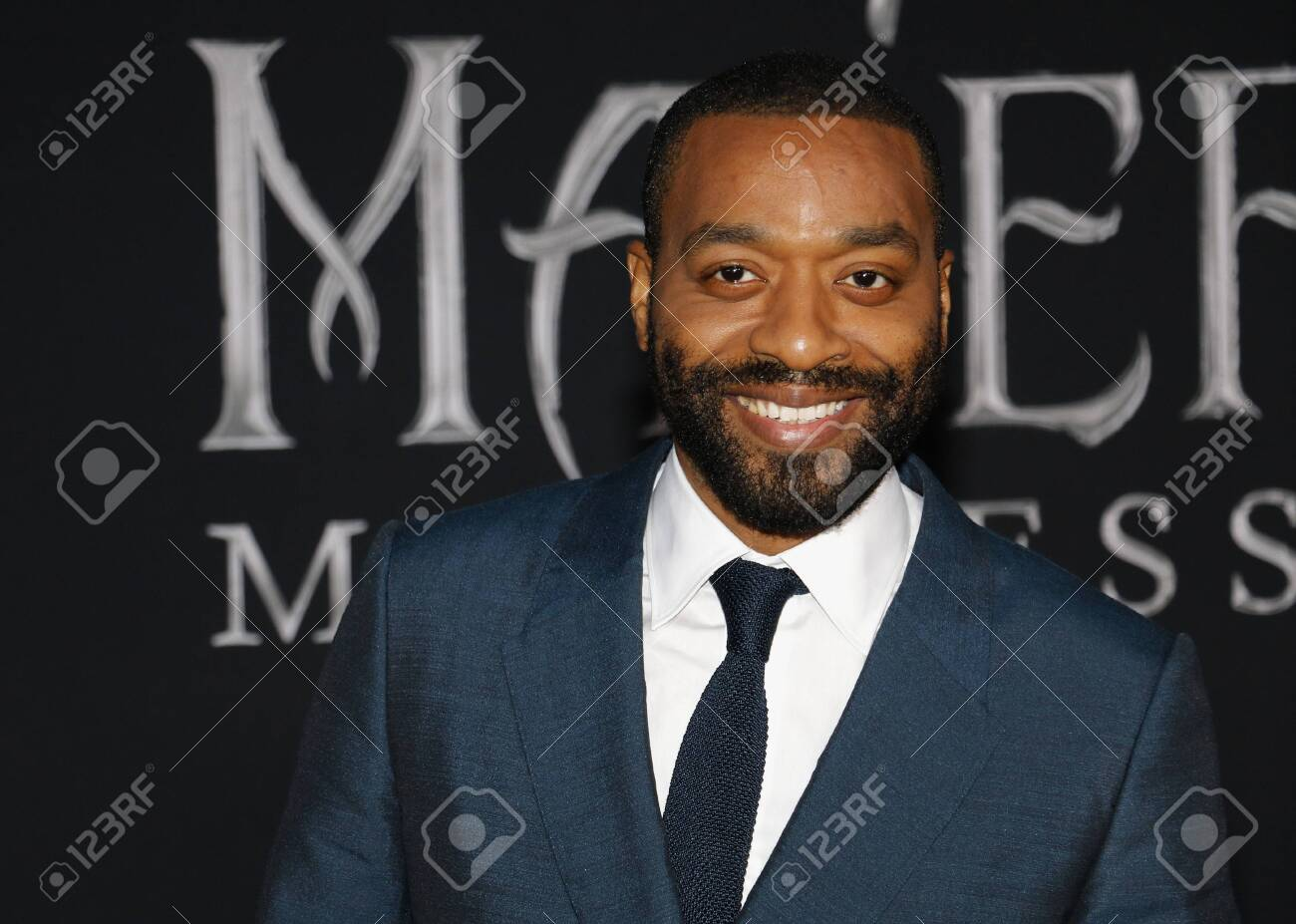 Chiwetel Ejiofor At The World Premiere Of Disney S Maleficent
