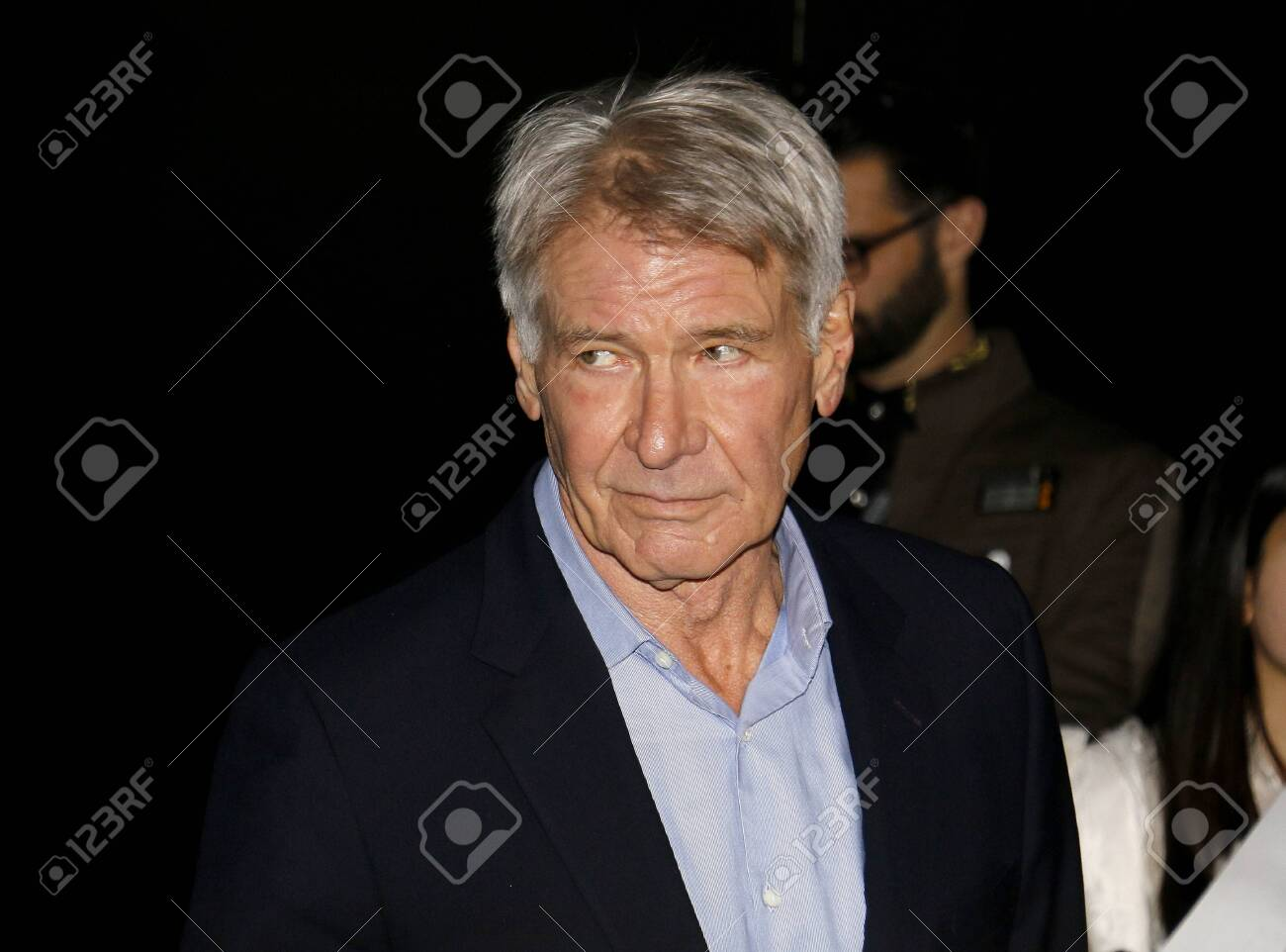 Harrison Ford At The World Premiere Of Disney S Star Wars The Stock Photo Picture And Royalty Free Image Image 142978459