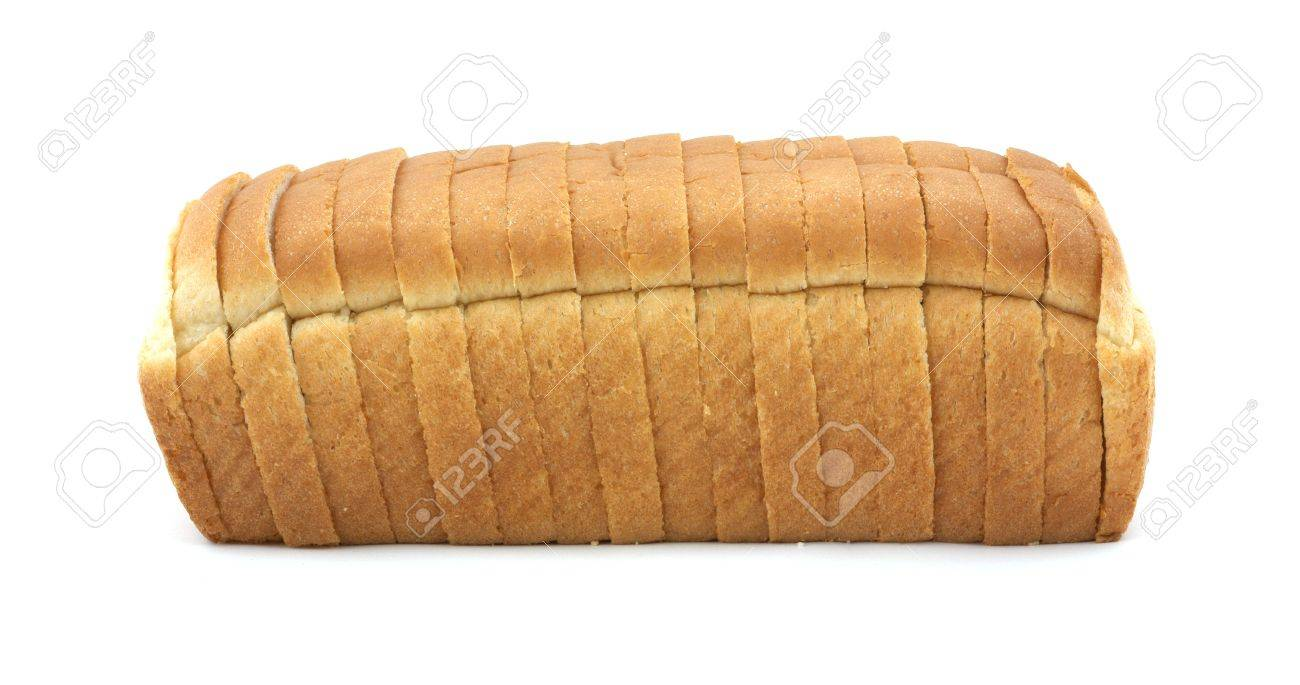 White bread loaf Stock Photo - 4711002