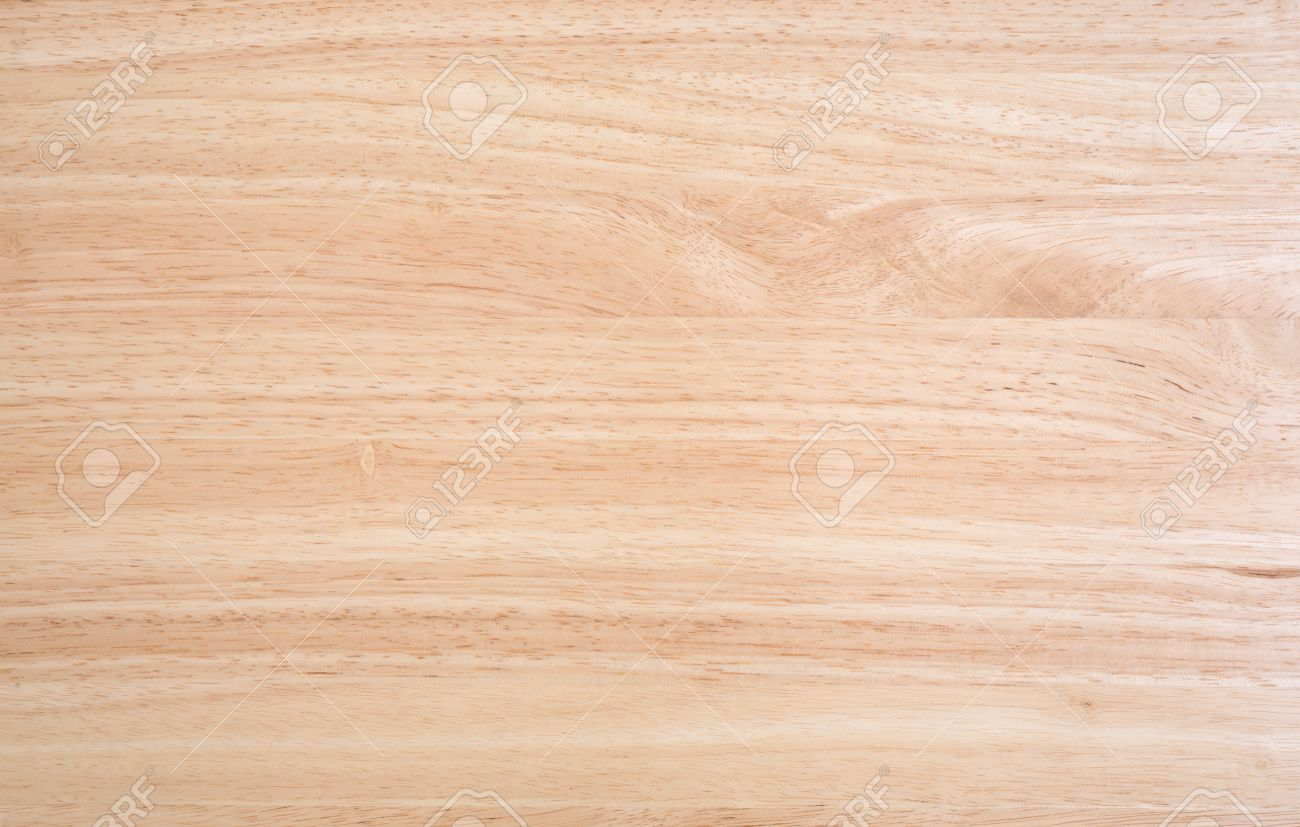 A Laminated Wood Table Top Illuminated By Natural Light. Stock Photo    43012445