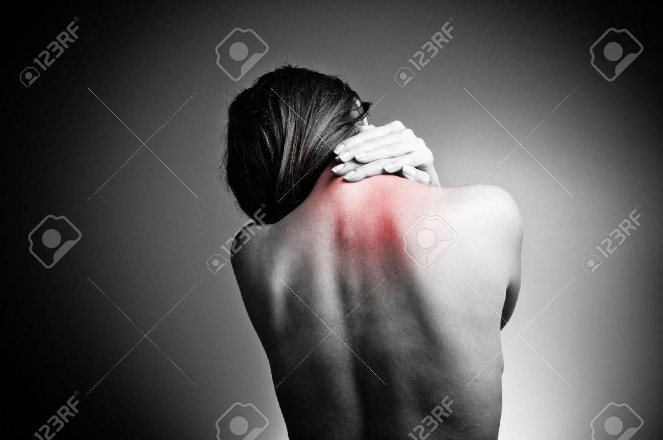 back pain Stock Photo - 10653481
