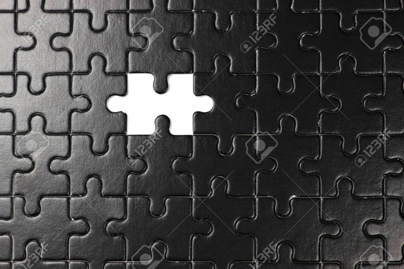 missing piece of jigsaw puzzle - 52071248